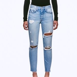 Grlfrnd Karolina skinny leg, high waist, size 28
